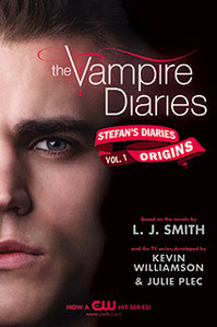 Official cover: Stefan's Diaries.