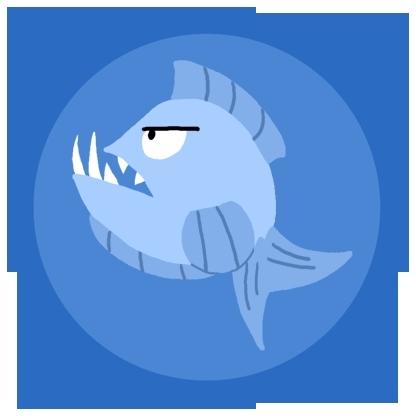 Killer Piranha's symbol