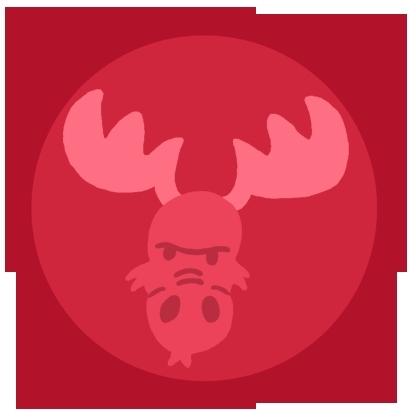 Screaming Moose's symbol