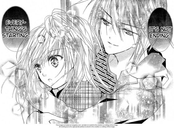 Ikuto And Amu Kiss Scene Ikuto And Amu Kiss Manga Where