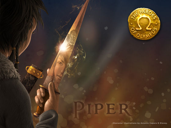 Character Info From the New heroes of Olympus Site - The ... Katoptris Dagger