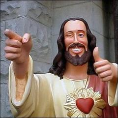 Hey, no problem kids. And remember, Jesus loves you! *