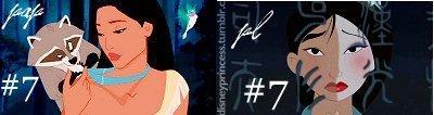 #7- Mulan (pap- percyandpotter, pl=princesslullaby)
