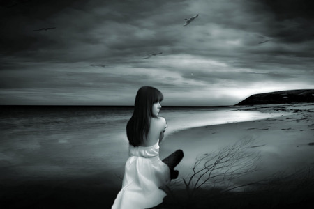 """""""Test the sea rising at your feet, how far can you go..."""""""