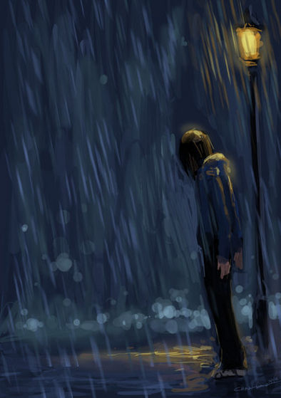 """""""Let the rain falling on your face, run into your eyes. Can you see the bahaghari now, through the stormy skies?"""""""