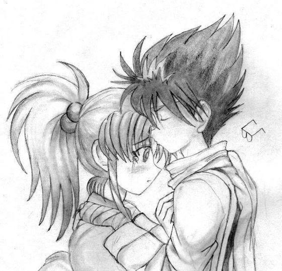Hiei and Botan
