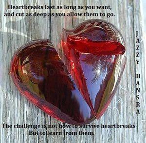 a crystil hart