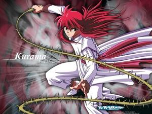 лиса, фокс demon Kurama