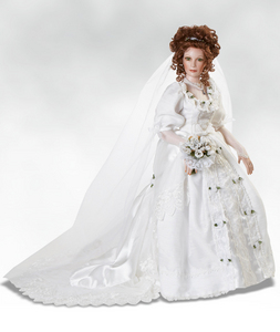 My version of Renesmee on her wedding day...