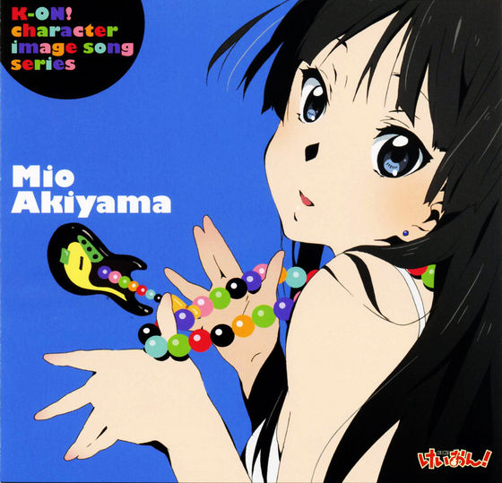 K-ON! Character Image Song Series-Mio Akiyama
