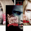My 가장 좋아하는 책 series are Vampire Academy, Vampire Diaries and Gone Series