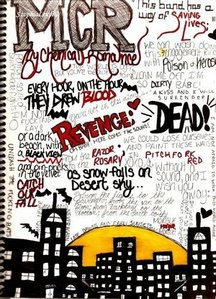 mcr poster i made!!*insert smiley face here*