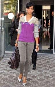 Rihanna in Skinnies