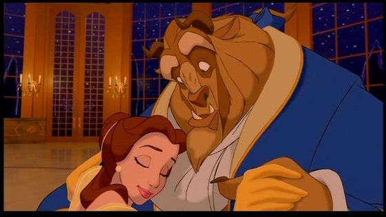 When Adam was the Beast with Belle dancing