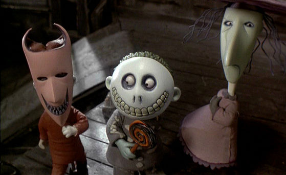 My Top 10 Nightmare Before Xmas characters. - Lock, Shock, and Barrel ...
