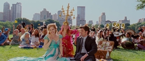 Disney now Enchanted was the ONLY DISNEY MOVIE that was great and cleverly done. Even though it's a rip off and not original but still loved it.