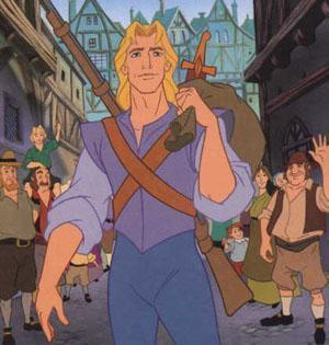 #5 John Smith; May not be a prince but he is hot, with his blonde hair and his personality. I like him because he is Rebelle and isn't afraid of a challenge as well as some romance with an Indian princess named Pocahuntas.