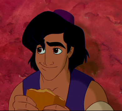 #4 Aladdin: I loved আলাদীন ever since I saw the movie and I feel really bad for him as he was a commoner and he was afraid that no one would want to be with him because of that.