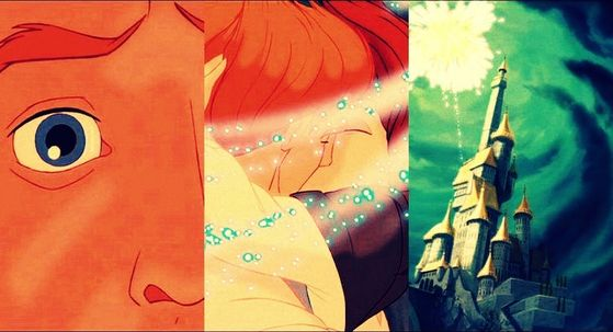 Its A Perfect Moment Beast Reveals Himself As Human Finally Belle Looks In His Eyes And Can Tell Him Kiss