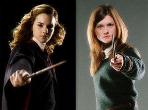 Hermione Granger and Ginny Weasley