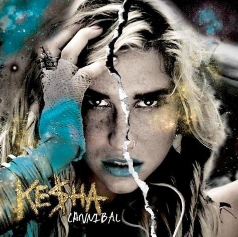 "Ke$ha's ""Cannibal"" Album Cover"