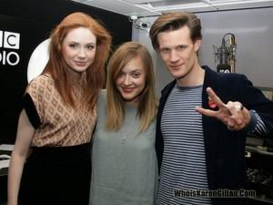 Fearne caught up with Matt & Karen...