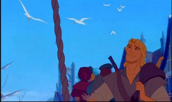 Captain John Smith...I'll be your first mate ANYDAY!