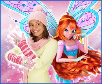 Winx club gloves!