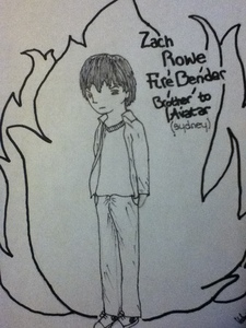 I drew this of Zach