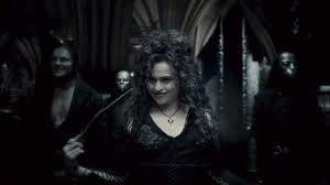 Bellatrix Lestrange in Half Blood Prince.