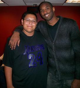 Steven and Kobe Bryant