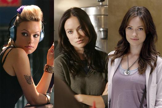 Olivia's main three TV roles