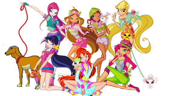 The Winx! (With Roxy): In Season 4