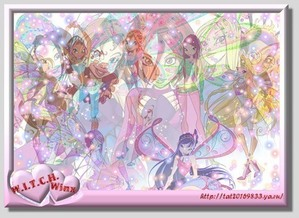 Winx and W.i.t.c.h United [Image Credit: Zanhar1]