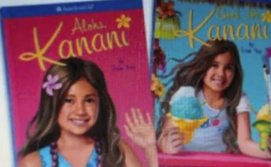 The front covers of Kanani's books, which will be released January first.