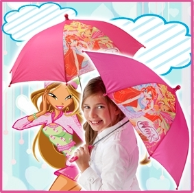 The present:a magic ''believix'' umbrella!