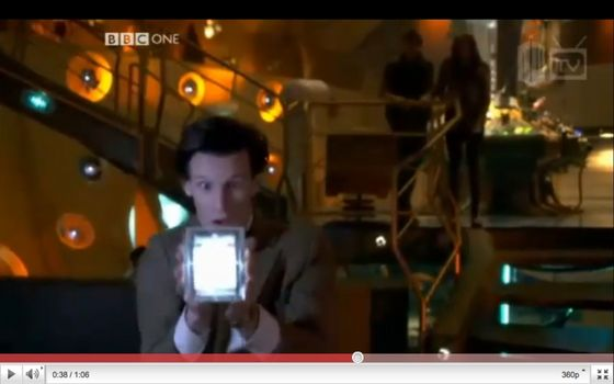 The Doctor has a box!