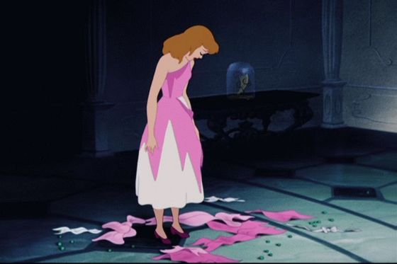 """But I thought everyone loved me... I'M FUCKING CINDERELLA! D':"""