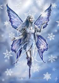 snowflake fairy!