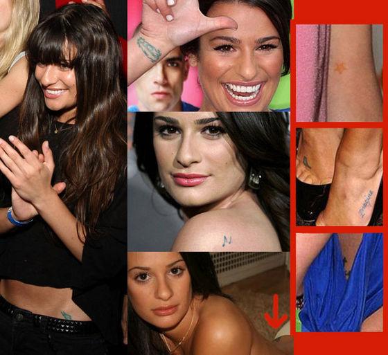 leas tattoos