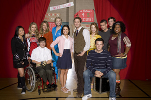 ग्ली cast