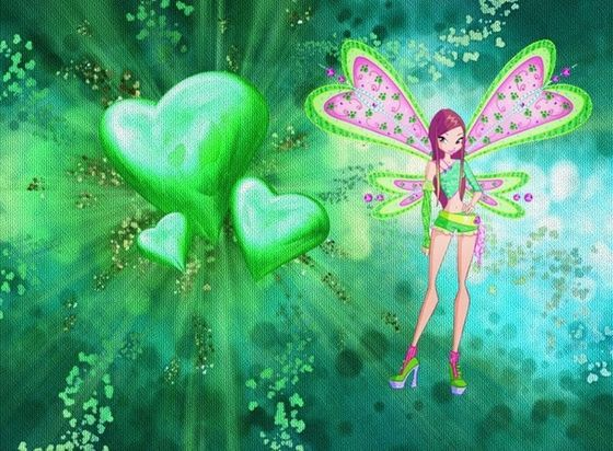 Roxy in Winx অথবা Believix (Not to sure which! XD)