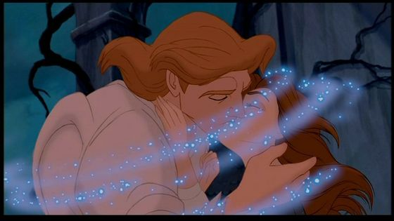 Q16 Favourite Disney kiss(animated or live action)