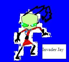 Invader jay