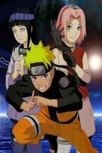 Hinata, Naruto, and Sakura