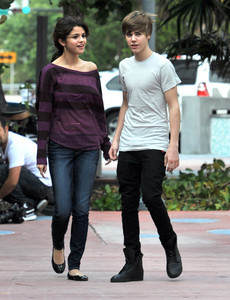 sel and justin