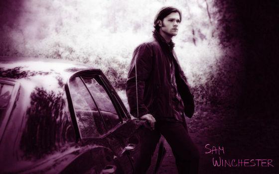 Sam with the Impala.