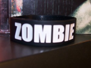 ★ This Is My Zombie Wristband ★