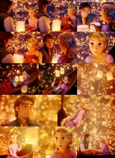 To the 50th CGI fairytale Tangled.