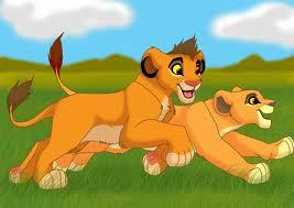 Kopa and Kiara As cubs
